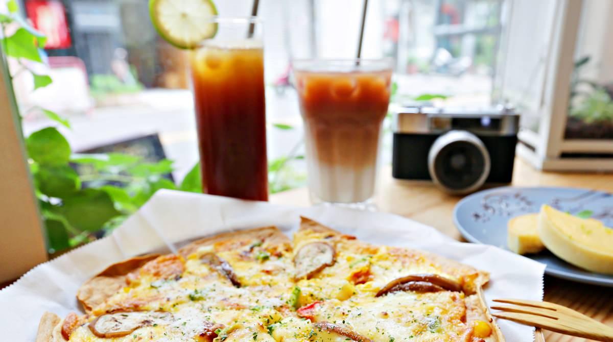 台中蔬食咖啡 盧仕咖啡 巷弄裡的文青咖啡館 肉食族也會愛的蔬食料理